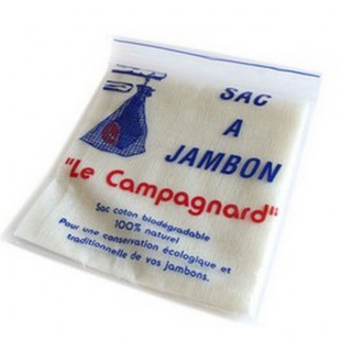 SAC A JAMBON DIMENSION 59 x 68 cm