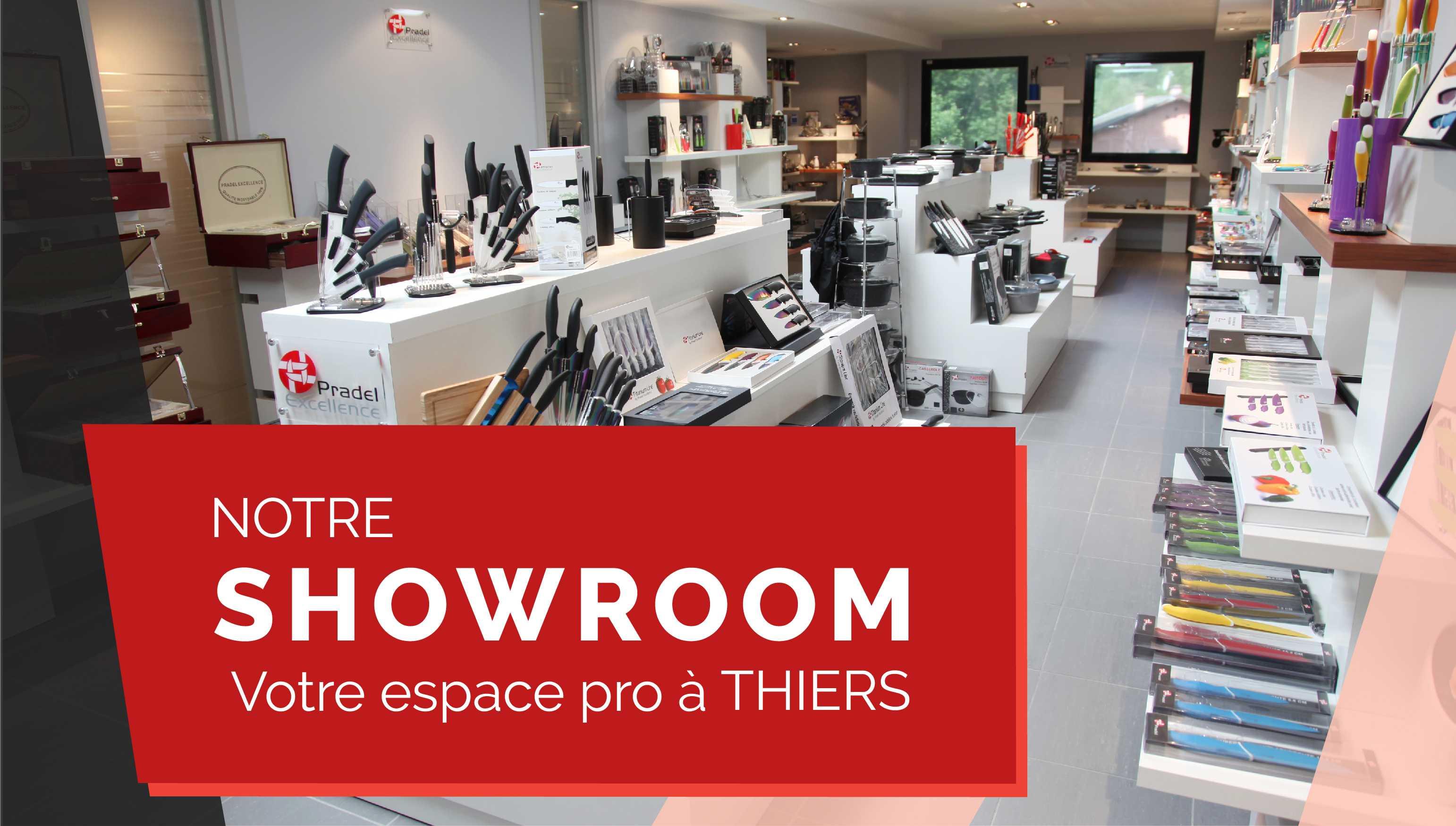 Notre Showroom à Thiers