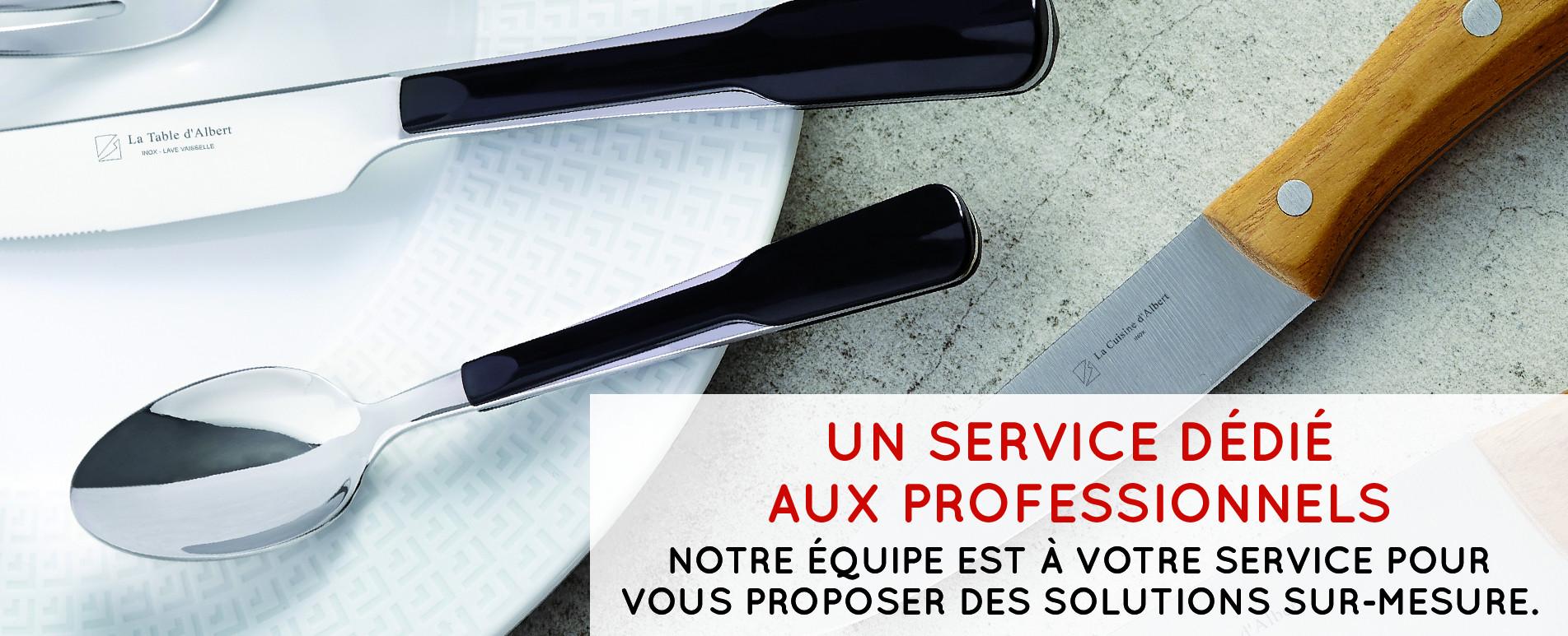 UN SERVICE SUR-MESURE POUR LES PROFESSIONNELS
